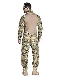 EMERSONGEAR Tactical Pants Shirt US Army Camo Airsoft Paintball BDU Uniform Pants Shirt