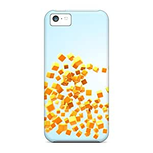 XiFu*MeiFaddish Phone Heart Of Cubes Cases For iphone 6 4.7 inch / Perfect Cases CoversXiFu*Mei