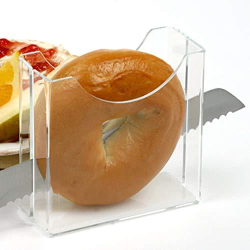 Clear Design Bagel Slicer/Holder by LilGift