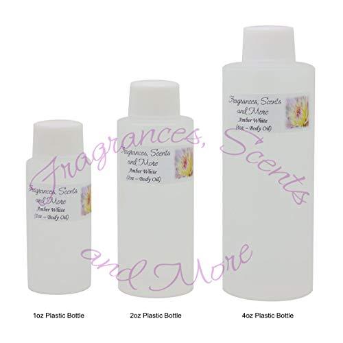 (Amber White Perfume/Body Oil (7 Sizes) - Free Shipping (8oz Plastic Bottle (240ml)))