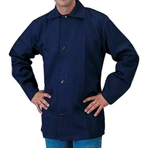 (Tillman 6230B 9 oz FR Cotton Flame Retardant Jacket Navy X-Large)