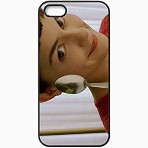 Personalized iPhone 5 5S Cell phone Case/Cover Skin Amelie 2001 movies Black