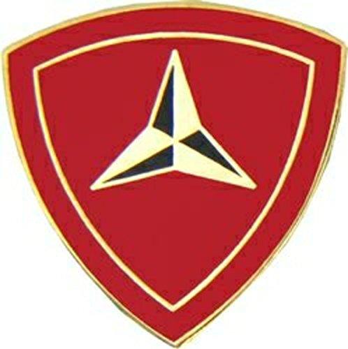 U.S. Marine Corps 3rd Marine Division Lapel Pin or Hat Pin ()