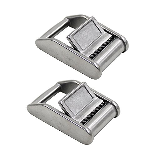 Buckle Press - YYST Stainless Steel 316 Cam Flap Buckles Press Cam Buckles Tie Down Buckle for 1