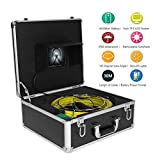 VBESTLIFE Pipe Inspection Camera,Drain Sewer Industrial Endoscope Video System with 9 Inch LCD Monitor 1000TVL,Video Camera Underwater 30M with 4500mah Battery Box.(US)