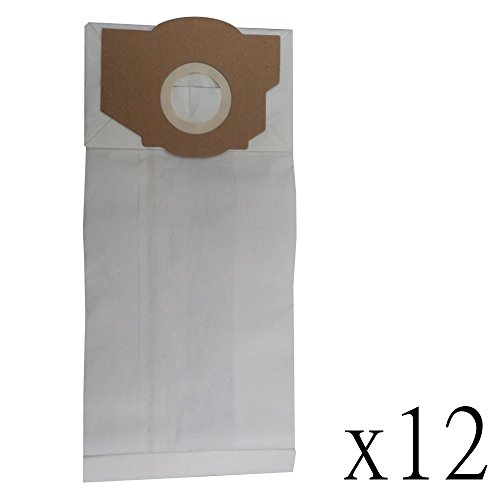 yan_ 12 Vacuum Bags for Eureka Style RR Paper Filtration ()