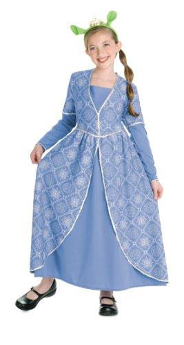 [Shrek Child's Costume, Princess Fiona Costume] (Girls Princess Fiona Costumes)
