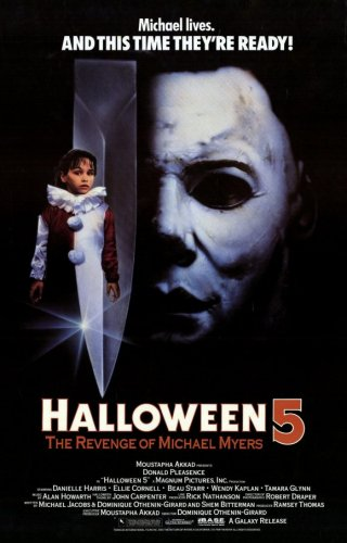 Halloween 5: The Revenge of Michael Myers Poster Movie 11x17 Donald Pleasence Ellie -