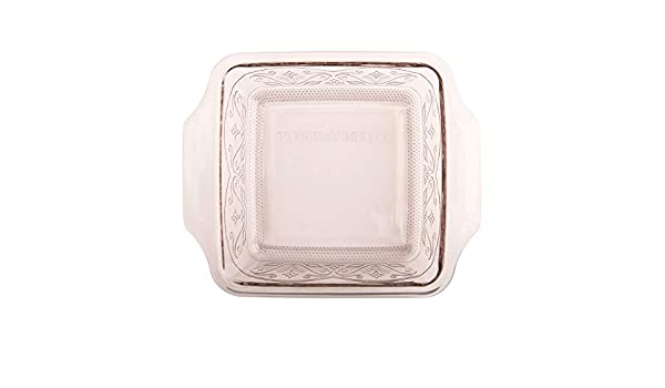 Anchor Hocking 8-InchSquare Glass Baking Dish with TrueFit Lid