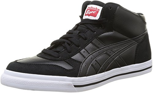 9090 Mt Aaron Unisex adults' Tiger Black Onitsuka black black Basketball Shoes tqwE855