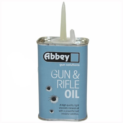 Abbey Gun And rifle Oil Lubricant Shotgun Airgun Air Pistol Lube 125ml...