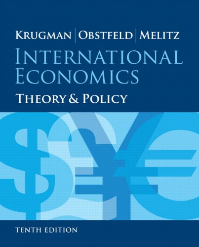 133423646 - International Economics: Theory and Policy (10th Edition) (Pearson Series in Economics)
