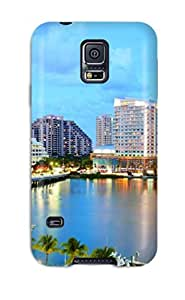 High-end Case Cover Protector For Galaxy S5(miami City )