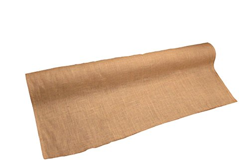 - LA Linen 60-Inch Wide  Natural Burlap , 20 Yard Roll