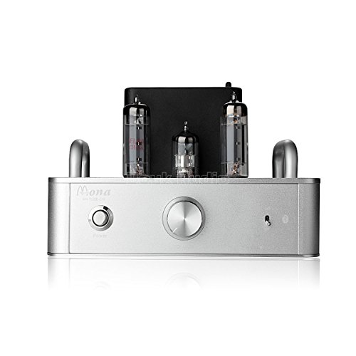 Douk Audio Hifi 6P14 El84  Vacuum Tube Integrated Amplifier  Stereo Single Ended Class A Power Amp With Bluetooth 4 0  Silver