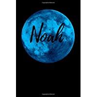 Noah: Name Notebook/ Journal/ Diary (110 Numbered pages, Blank, 6 x 9)