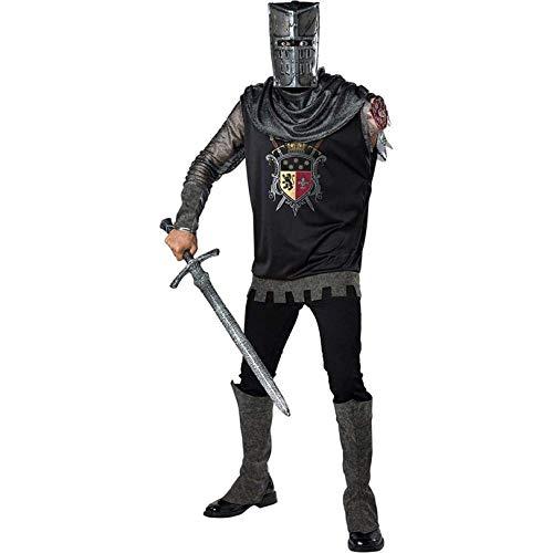 Fun World Adult Black Knight Costume
