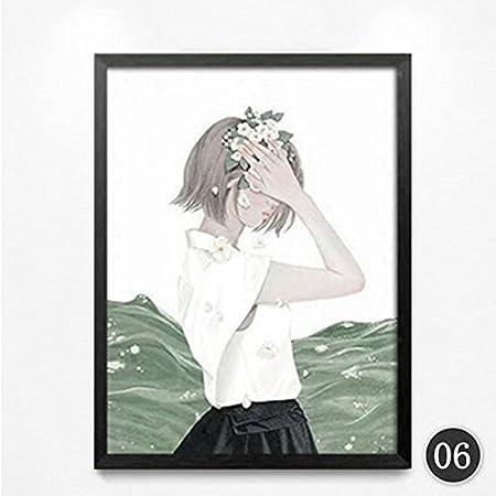 raybre arte Guardián lado niña en una camisa blanca negro falda ...