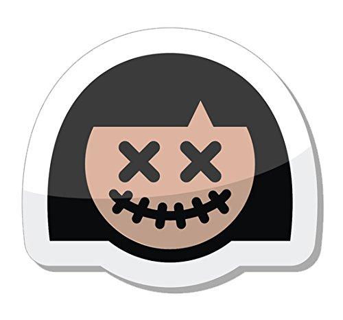 Halloween Monster Costume Icon Vinyl Decal Sticker (8