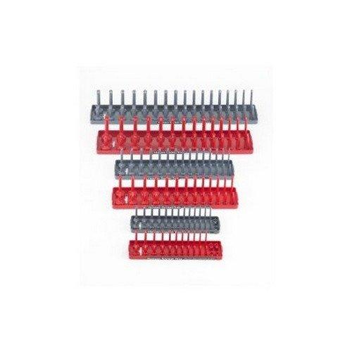 Hansen Global 92000 SAE & Metric Socket Storage Trays - 6 Piece Set (Sae Sockets compare prices)