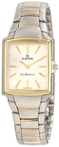 Edox Men's 28126 357 AID Les Bemonts Rectangular Ultra Slim Watch