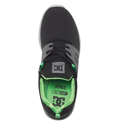 Noir Dc Homme De Chaussures Pour Gris Running Vert Heathrow xTYTrqXwO
