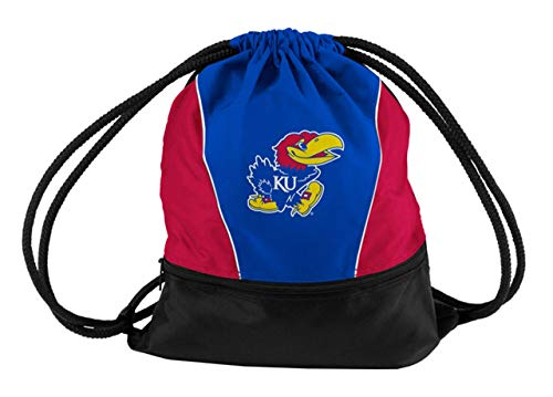 Logo Brands NCAA Kansas Jayhawks Sprint Pack, Small, Team Color (Bag Sling Kansas Jayhawks)