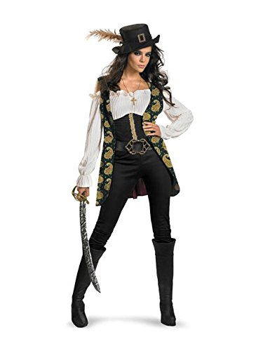 Womens Pirate City Costume Party (Angelica Deluxe Adult Costume -)