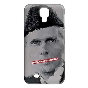 Loud Universe Samsung Galaxy S4 Muhammad Ali Jinnah Print 3D Wrap Around Case - Multi Color