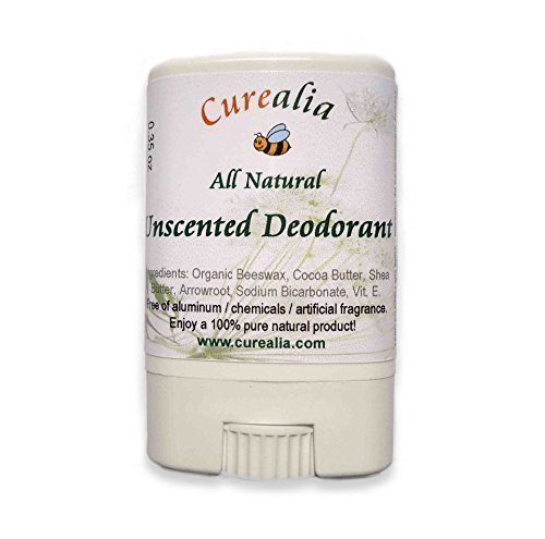 Natural Deodorant Unscented Mini Travel product image