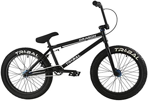 Tribal Dragon Bicicleta BMX – Piezas negro mate/azul: Amazon.es ...