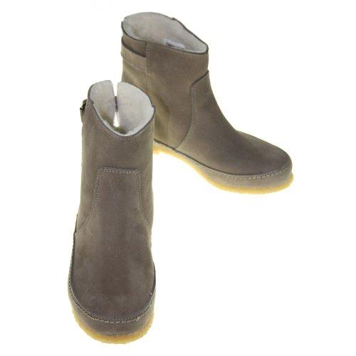 CASHOTT Schuhe - Stiefeletten 10273 - gravado taupe, Größe:40