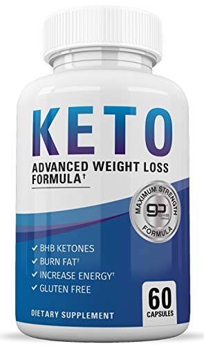 Keto Diet Pills - Keto BHB Supplement to Burn Fat Fast - Keto Slim Advanced Weight Loss Pills for Women and Men - Exogenous Ketones - Boost Energy and Metabolism - 60 Ketogenic Supplements (Diet Pills True)