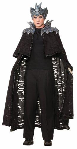 Forum Novelties Men's Cape Fantasy Sorcerer Costume, Black, Medium