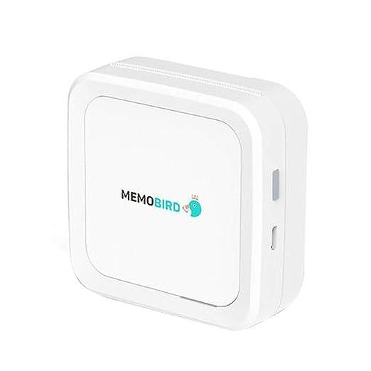 KingbeefLIU Impresora 3D, portátil, Bluetooth 4.2, Mini foto ...