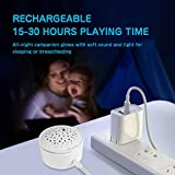 APUNOL Baby Sleep soothers, Rechargeable White