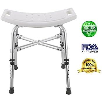 Amazon Com Medmobile U Shape Aluminum Shower Chair With