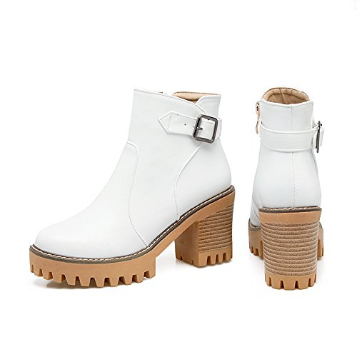 1TO9 1TO9Mns02555 - Sandalias con Cuña Mujer blanco