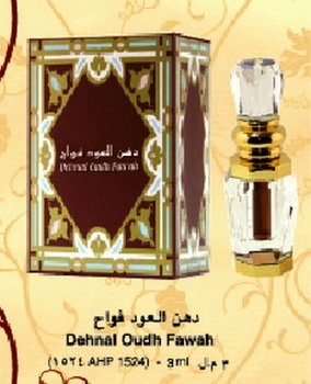 Dehnal Oudh Fawah - Arabian Designer Therapeutic Essential Perfume Oil Fragrance - Long Lasting Attar /