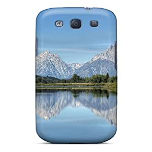 FkF10896jnKB Case Cover Gr Tetons Horseshoe Bend Lookout Galaxy S3 Protective Case