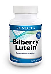 SunDita Bilberry Lutein Supplement with Zeaxanthin - Helps Support and Protect Healthy Vision*