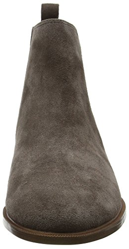 Suede Shine Taylor Grey Taupe Women's Chelsea Clarks Boots 0pAqwF40x