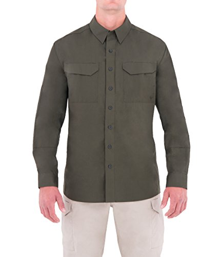 First Tactical Herren Specialist Langarm Tactical Shirt OD Grün