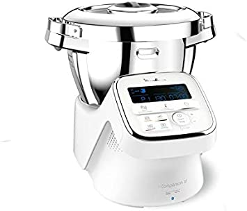 Moulinex Robot Cuiseur Connecté I-Companion XL Blanc 1550W 4,5L YY3963FG: Amazon.es: Hogar