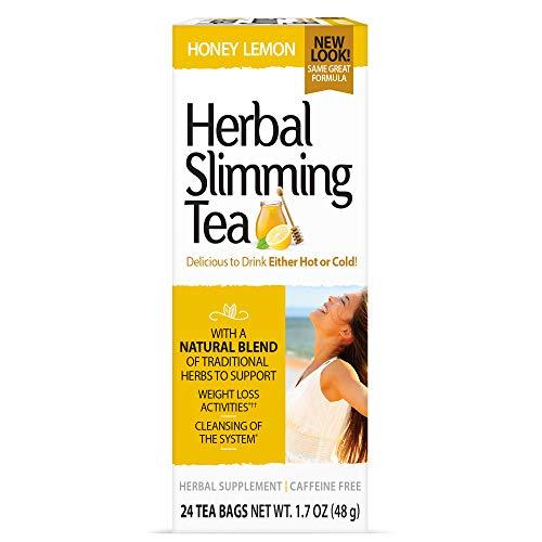 21st Century Slimming Tea, Lemon Honey, 24 bags