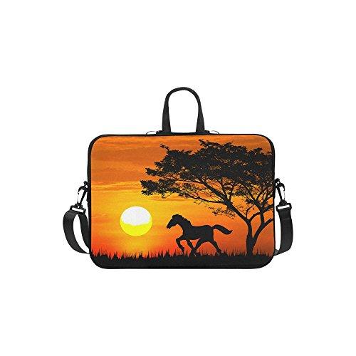 InterestPrint Animal Horse Laptop Sleeve Case Bag