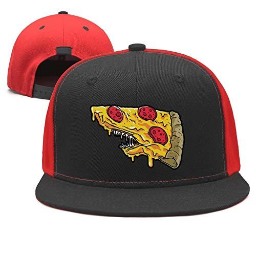 Fashion Baseball Hats Shark Mouth Pizza Pattern Unisex