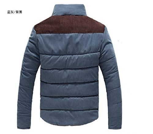 Leisure Turtleneck Thicken Fleece Color Spell XINHEO 2 Jacket Cotton Mens Zipper IX6PKaq