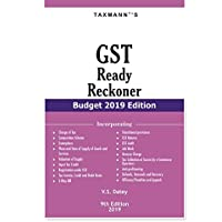 GST Ready Reckoner (Budget 2019 Edition)