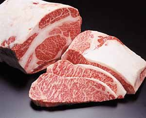 Kobe Wagyu Beef Top Sirloin - 4 x 8 oz. Steaks (Only $9.95 2nd Day Shipping!) by JustCaviar
